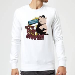 Toy Story Evil Oinker Sweatshirt - White