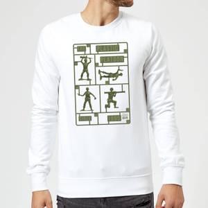 Toy Story Plastic Platoon Sweatshirt - White