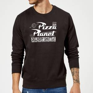 Toy Story Pizza Planet Logo Sweatshirt - Black