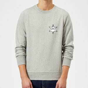 Sweat Homme Sheriff Woody Toy Story - Gris