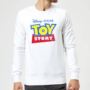 Toy Story Logo Sweatshirt - White