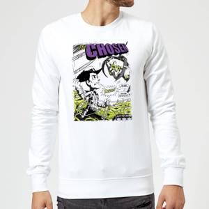 Sweat Homme Couverture de Comic Toy Story - Blanc