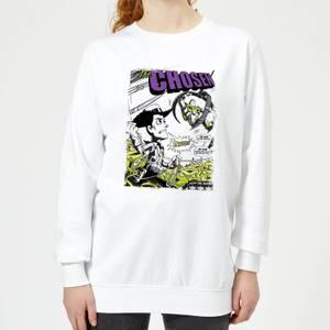 Toy Story Comic Cover Women's Sweatshirt - White