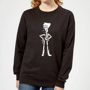 Toy Story Sheriff Woody Women's Sweatshirt - Black