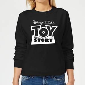 Sweat Femme Contour du Logo Toy Story - Noir