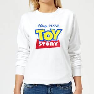 Toy Story Logo Women's Sweatshirt - White