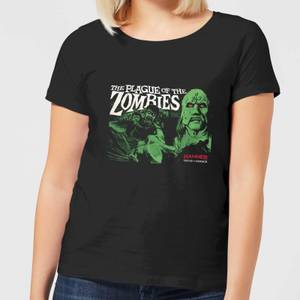 T-Shirt Femme Plague Of The Zombies - Noir