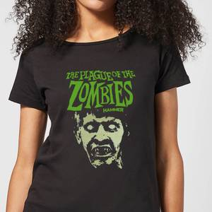 T-Shirt Femme Portrait Plague Of The Zombies - Noir