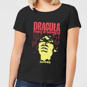 Hammer Horror Dracula Prince Of Darkness Women's T-Shirt - Black