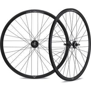 Miche X-Press Pista/Rod Wheelset - 700c - Black