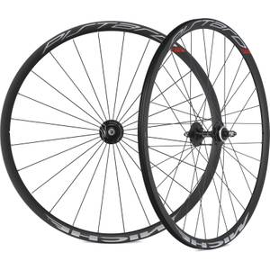 Miche Pistard Track Clincher Wheelset - 700c - Black