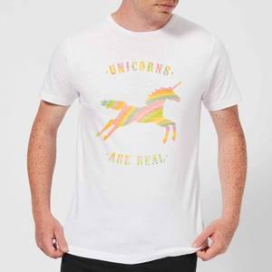 Florent Bodart Unicorns Are Real Men's T-Shirt - White