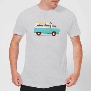 Florent Bodart Blue Van Men's T-Shirt - Grey