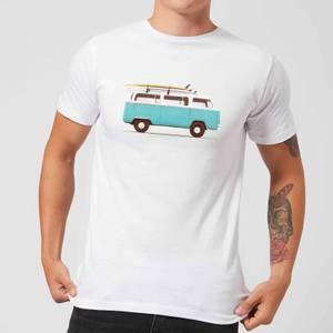Florent Bodart Blue Van Men's T-Shirt - White