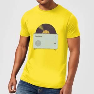 Florent Bodart High Fidelity Men's T-Shirt - Yellow