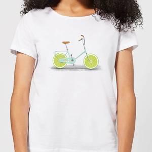 Florent Bodart Citrus Lime Women's T-Shirt - White