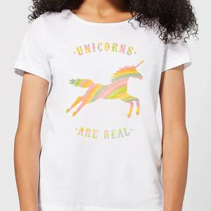 Florent Bodart Unicorns Are Real Women's T-Shirt - White