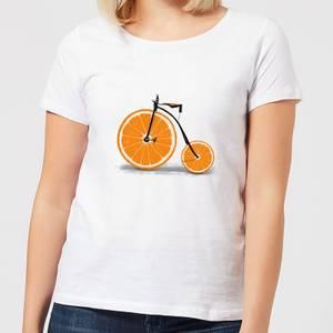 Florent Bodart Citrus Women's T-Shirt - White