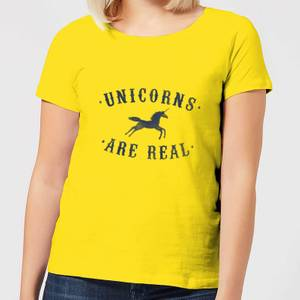 Florent Bodart Unicorns Are Real Women's T-Shirt - Yellow