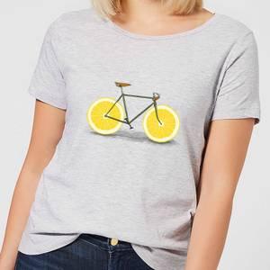 Florent Bodart Citrus Lemon Women's T-Shirt - Grey