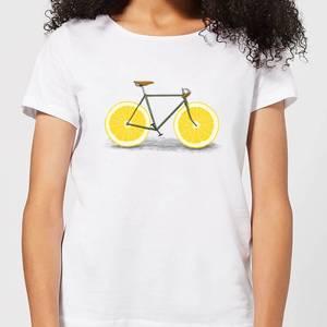 Florent Bodart Citrus Lemon Women's T-Shirt - White