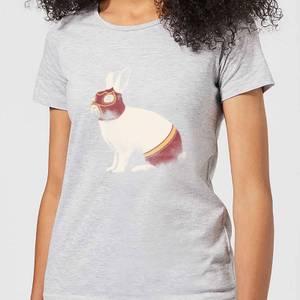 Florent Bodart Lapin Catcheur Women's T-Shirt - Grey