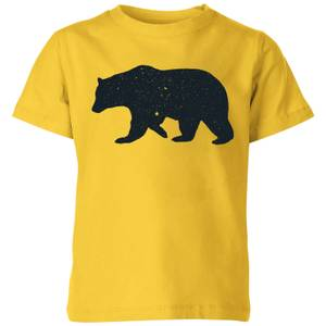 Florent Bodart Bear Kids' T-Shirt - Yellow