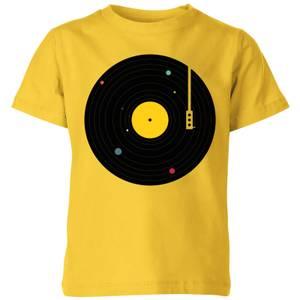 Florent Bodart Music Everywhere Kids' T-Shirt - Yellow