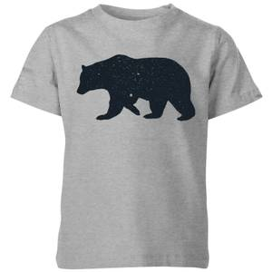 Florent Bodart Bear Kids' T-Shirt - Grey