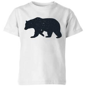 Florent Bodart Bear Kids' T-Shirt - White