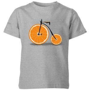 Florent Bodart Citrus Kids' T-Shirt - Grey