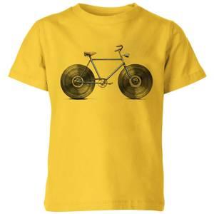 Florent Bodart Velophone Kids' T-Shirt - Yellow