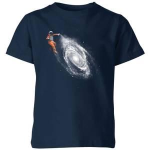 Florent Bodart Space Art Kids' T-Shirt - Navy