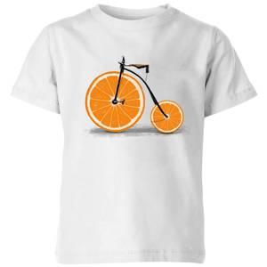 Florent Bodart Citrus Kids' T-Shirt - White