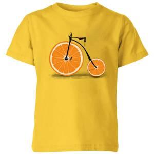 Florent Bodart Citrus Kids' T-Shirt - Yellow