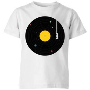 Florent Bodart Music Everywhere Kids' T-Shirt - White