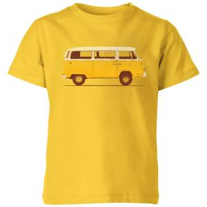 Florent Bodart Yellow Van Kids' T-Shirt - Yellow