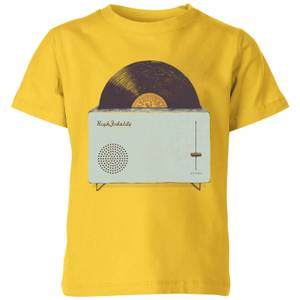 Florent Bodart High Fidelity Kids' T-Shirt - Yellow