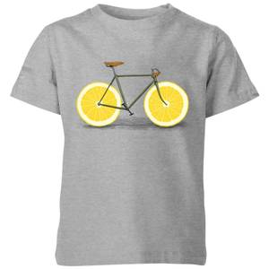Florent Bodart Citrus Lemon Kids' T-Shirt - Grey