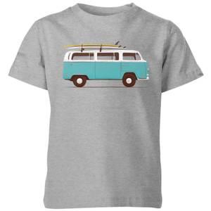 Florent Bodart Blue Van Kids' T-Shirt - Grey