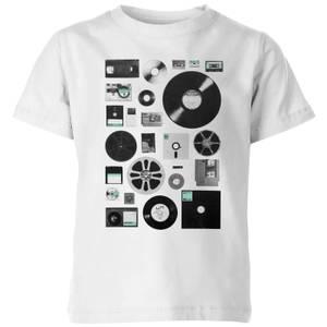 Florent Bodart Data Kids' T-Shirt - White
