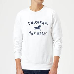 Florent Bodart Unicorns Are Real Sweatshirt - White