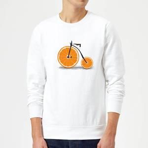 Florent Bodart Citrus Sweatshirt - White