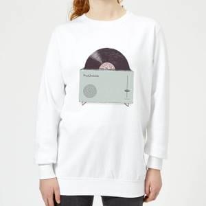 Florent Bodart High Fidelity Women's Sweatshirt - White