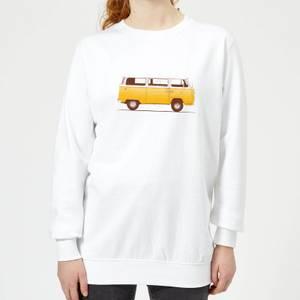 Florent Bodart Yellow Van Women's Sweatshirt - White