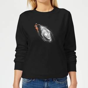 Florent Bodart Space Art Women's Sweatshirt - Black