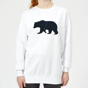 Florent Bodart Bear Women's Sweatshirt - White