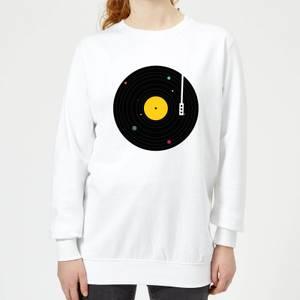 Florent Bodart Music Everywhere Women's Sweatshirt - White