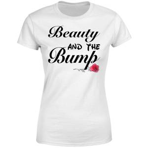 Be My Pretty Beauty and The Bump Women's T-Shirt - White