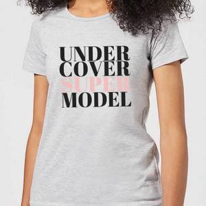 Be My Pretty Under Cover Super Model Women's T-Shirt - Grey